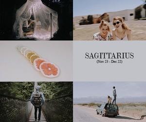 aesthetic, pretty, and Sagittarius image