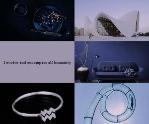 aesthetic, aquarius, and january image