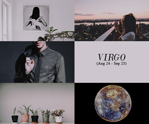 aesthetic, virgo, and earth sign image