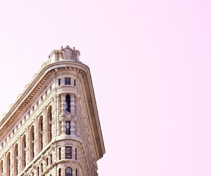 building, rosy, and simple image