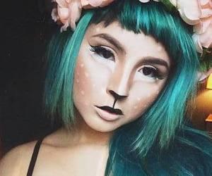 bambi, Halloween, and make up image