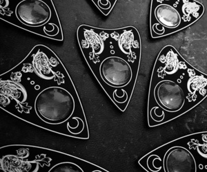goth, macabre, and ouija image
