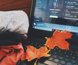 black, cozy, and fall image