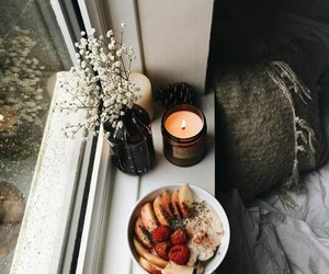 candle, aesthetic, and autumn image