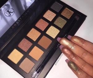 eyeshadow, girl, and luxury image