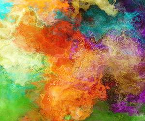 art, colour, and universe image