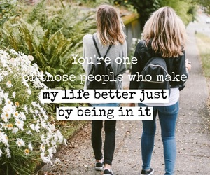 best friend, quotes, and friend image