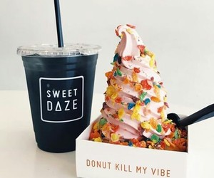dessert, food, and icecream image