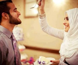 muslim, islam, and couple image