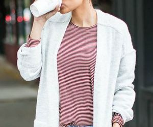 autumn, fall outfit, and cardigan image