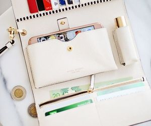 fashion, wallet, and purse image