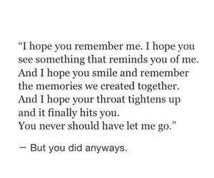 quotes, hope, and memories image