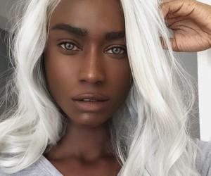 hair, beauty, and girl image