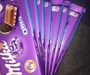 chocolate, oreo, and snacks image