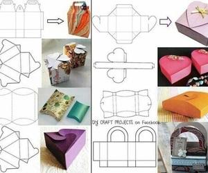 diy, box, and present image