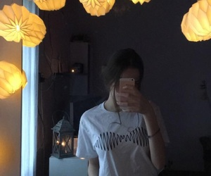 candle, faceless, and girl image