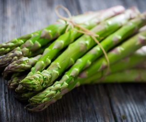asparagus, green, and vegetables image