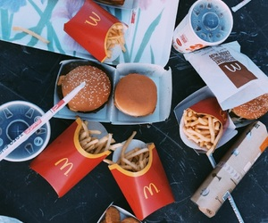 big mac, McDonald's, and tumblr image