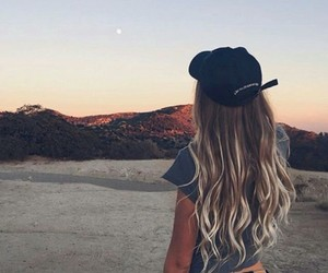 girl, hair, and tumblr image