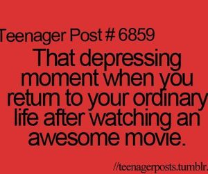 life, movie, and teen image