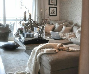 couch, home, and life image
