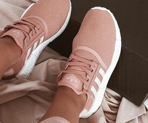 adidas, rosa, and fashion image
