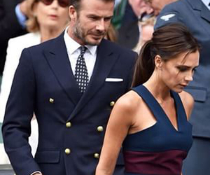 couple, victoria beckham, and David Beckham image