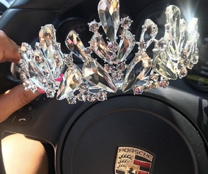 crown, car, and diamond image