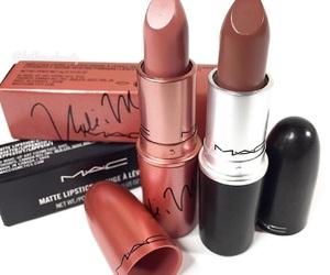 beauty, mac, and lips image