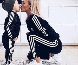 adidas, adorable, and blonde image