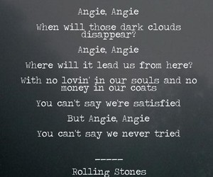 angie, british, and rolling stones image
