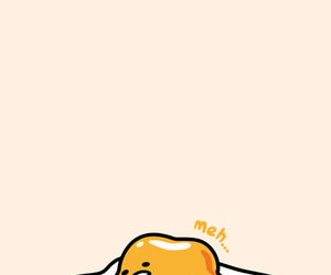 cute, egg, and gudetama image