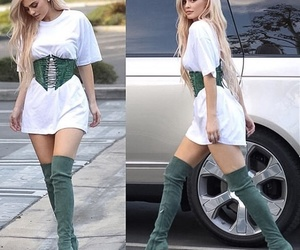 kylie jenner, kylie, and green image