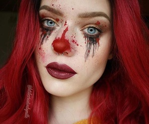 Halloween, makeup, and letsbecreativebymille image
