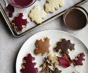 Cookies, autumn, and fall image