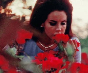 lana del rey, flowers, and national anthem image