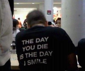 grunge, smile, and black image
