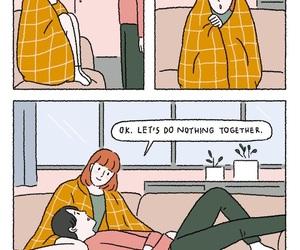 comic, kids, and romance image
