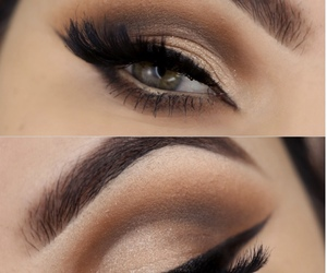 beauty, eyes, and eyemakeup image