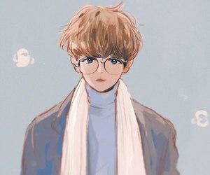 exo, fanart, and byun baekhyun image