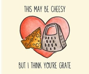 cheesey grate heart love image