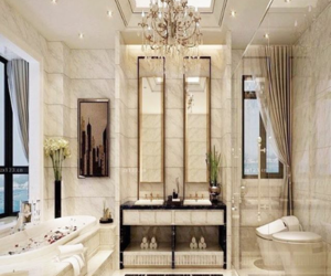 bathroom, expensive, and girls image