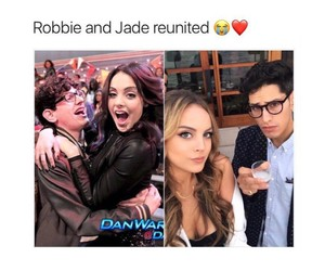 jade, robbie, and victorious image