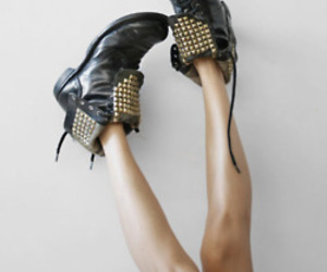 boots, legs, and studs image