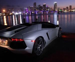 car, Lamborghini, and city image