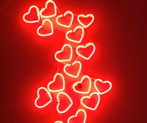 corazones, heart, and rojo image