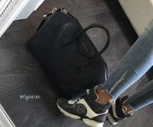 bag, bags, and basket image