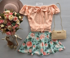 clothes, colorful, and girly image