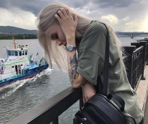 bateau, girl, and parts image