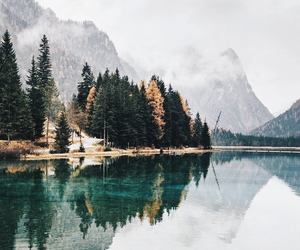 travel, wanderlust, and lake image